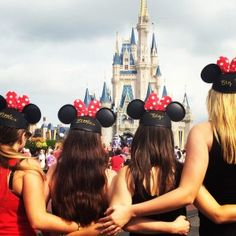 Family reunion at the happiest place on earth