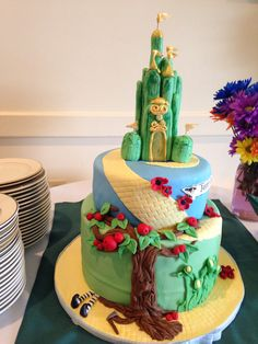 Wizard of Oz Cake, by Amy Hart
