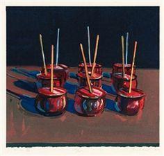 Wayne Thiebaud, Candy Apples