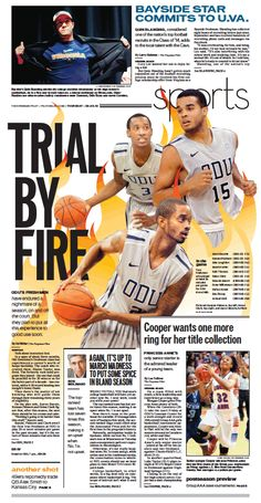 Sports cover, Feb. 28, 2013.