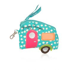 Icon Coin Purse / Happy Camper The cool way to carry your change or gift cards! Add a touch of hip when you clip. Great with Cinch Sacs or Thermal Totes