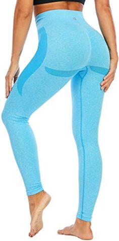 RUNNING GIRL Butt Lift Leggings for Women, Workout Yoga Leggings Seamless 4 Way Stretch Squat Proof RUNNING GIRL Girl Running, Women's Leggings, Squats, Workout, Clothes, Outfits, Clothing, Work Out, Kleding