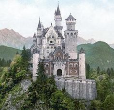 Neuschwanstein Castle. The inspiration for Cinderella's Castle. Gorgeous place if you ever get to go.