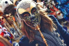 Carneval In Venice, Italy. photography, mask, style