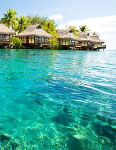 Beautiful Tropical Beach – Tahiti