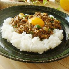 """It is favorite ♪ curried pilaf wholly""みんな大好き♪ドライカレー/カレーライス"