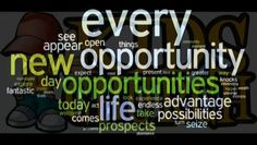 New Opportunities, Knock Knock, Acting, Ads, In This Moment, Life