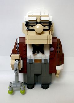 Lego Carl by MacLane, via Flickr