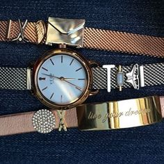 Keep Collective time piece with the locket