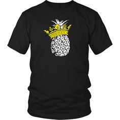 This pineapple shirt is for those who can& ever get enough of pineapples. Unisex tees and v-necks are super soft combed and ring-spun cotton, with durabil Pineapple Shirt, Irish Roots, Mens Tees, Printed Shirts, Prince, Hoodies, Casual, T Shirt, Clothes