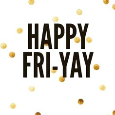 It's here! #Friday #AlmostWeekend #YorkdaleStyle