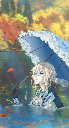 Violet Evergarden Wallpaper, Cute Anime Wallpaper, Cool Anime Backgrounds, Anime Scenery Wallpaper, Otaku Anime, Manga Anime, Violet Evergreen, Violet Garden, Violet Evergarden Anime