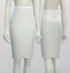 Rusty Nail: Pencil dress skirt • Sims 4 Downloads