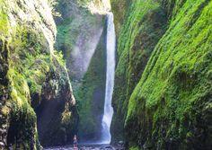 Lower Oneonta Falls Oregon