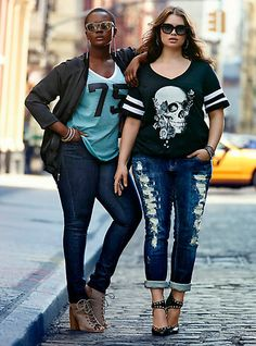 Fabulous plus size casual fashion