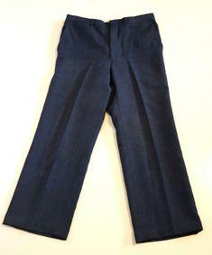 Dusty Blue Vintage Fairlane Front Pleat Suit Slacks pants W Dusty Blue, Slacks, Sweatpants, Suits, Jeans, Vintage, Fashion, Moda, Fashion Styles