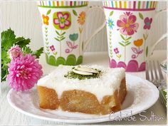Deserturi lactate Vanilla Cake, Allah, Food And Drink, Pudding, Pizza, Cookies, Sweet, Desserts, Recipes