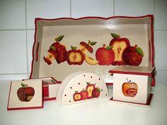 Fazendo arte com Monyk Ferreira: Kit de cozinha