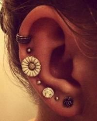 This is really cute, but I don't want that many piercings ..