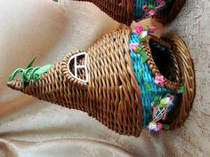 Тема: плетенки от марины (35/53) - Плетение из газет и другие рукоделия - Плетение из газет