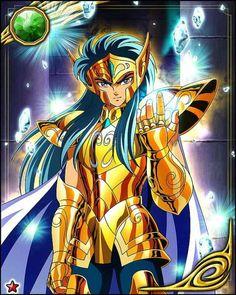 Saint Seiya (Knights of the Zodiac) Photo: Aquarius Camus Anime Couples Manga, Anime Guys, Aquarius, Sailor Moon, Knights Of The Zodiac, Golden Warriors, Desenho Tattoo, Animation, Neon Genesis Evangelion