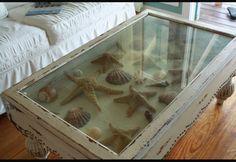 Seaside coffee table