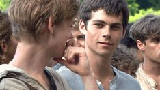 Pin for Later: 18 Times You Wanted to Run Away With the A-Maze-ing Dylan O'Brien Whenever Thomas and Newt Are Having a Moment They're so cute together.