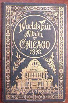 1893 World's Fair album