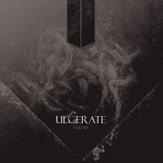 """New Zealand natives Ulcerate take you to the outer limits of Death Metal and beyond on """"Vermis,"""" released through Relapse Records. Music Covers, Cd Cover, Cover Art, Album Covers, Cd Artwork, Metal Artwork, Irish Culture, Extreme Metal, Death Metal"""