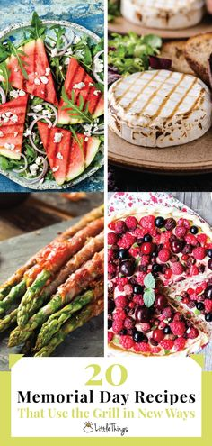 20 Memorial Day Recipes That Use the Grill in Totally New Ways: The grill isn't just for making smoky, delicious red meat. Check out these mouthwatering grill recipes for everything from dessert to salad and bread.