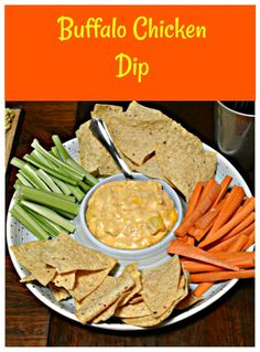 Make this tasty Buffalo Chicken Dip with real chicken! Buffalo Chicken Dip | Dip Recipes | Appetizer Recipes | Buffalo Recipes | Chicken Recipes | Party Recipes | Game Day Recipes | Party Food | Game Day Food |
