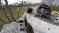 There must be a good story about these abandoned aircraft. Who out there in Fighter Sweep land knows? The men in the video don't say where the planes are,