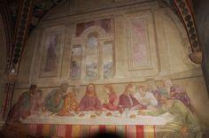 Ultima Cena (probabilmente del XVI secolo) - Chiesa e monastero di Santa Maria in Campis, Foligno (PG)