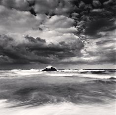 East Sea Tide, Hoojeong Beach, Gyeongsangbukdo, South Korea, 2010 by Michael Kenna