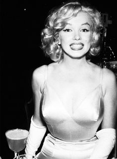 Marilyn - love her smile in this!  Hands down, my favorite picture of her.