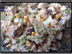 Maggie79 Kuchenne podboje: SAŁATKA z SELEREM naciowym, KURCZAKIEM i... Potato Salad, Potatoes, Menu, Ethnic Recipes, Food, Menu Board Design, Potato, Essen, Meals