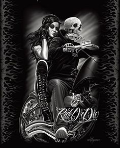 Ride or Die Motorcycle Biker Babe Queen Size Luxury Royal Plush Blanket 79x95 Inches DGA http://www.amazon.com/dp/B00NLA9UPM/ref=cm_sw_r_pi_dp_QO1jvb025WHTS