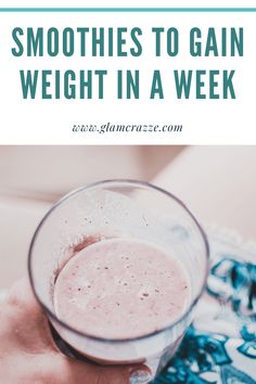 How to gain weight in a week? here are 10 genuine tips to gain weight in a week you need to see rightnow Weight Gain Drinks, Gain Weight Smoothie, Tips To Gain Weight, Weight Gain Workout, Weight Gain Journey, Gain Weight Fast, Weight Gain Meal Plan, Healthy Weight Gain, Protein Shake Recipes