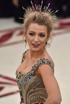 Blake Lively - Met Gala 2018 Beauty