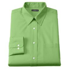 Croft+&+Barrow+Classic-Fit+Solid+Broadcloth+Point+Collar+Dress+Shirt