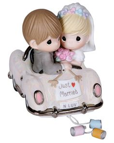 Just Married Precious Moments Figurine - Precious Moments item 103018
