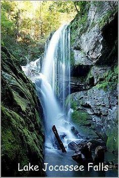 Lake Jocassee Falls SC