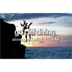 #cliffdiving #beforeidie #bucketlist