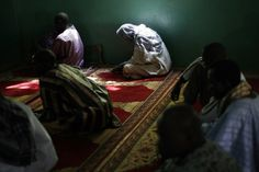 Worshipers pray in the mosque in Banamba, Mali, some 140 kms miles) North of the capital Bamako Friday Jan. Latest Stories, News Stories, Islamic City, Pictures Of The Week, Mosque, Prayers, Muslim, Friday, Beauty