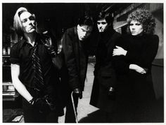 Garage punk band The Cramps standing outside the club (1977). | 17 Awesome Photos That Captured CBGB's Iconic 1970s Punk Scene
