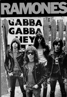 """""""The Ramones own the fountain of youth. Experiencing us is like having the fountain of youth."""" ~ Joey Ramone ♪"""