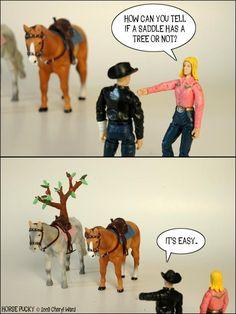 Horse Pucky: Saddle Tree
