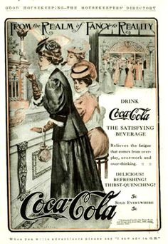 These wonderful old Coca-Cola advertisements is very beautiful. This soft drink was born on May Coca-Cola is the second most popular word in the. Coca Cola Poster, Coca Cola Ad, Always Coca Cola, World Of Coca Cola, Coca Cola Vintage, Vintage Ads, Vintage Dresses, Pub Coca, Coke Ad