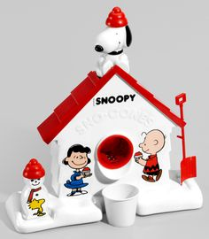 Snoopy Sno-cone Machine. This pin satisfied the kid in me.
