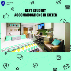 If you're headed to the University of Exeter, we'll help you sort out your accommodation! 😉  #exeter #accommodation #university #room #studios #student #abroadlife #worlwide #universityliving
